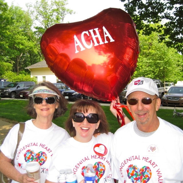 Mom, LES & Pops Walk for the ACHA, 2011