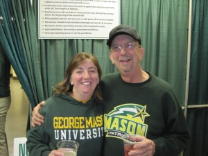 Go Green, Go Gold!Father Daughter Bonding!
