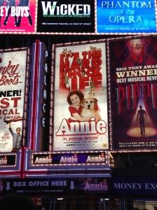 On tap...Annie!