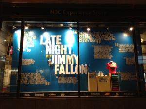 Jimmy's Window @ NBC Studios