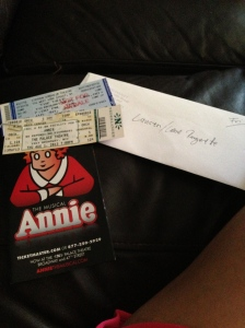 Tickets for the Lone Rangerette