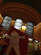 Stanley at Grand Central Station