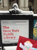 Stanley at the NY Public Library