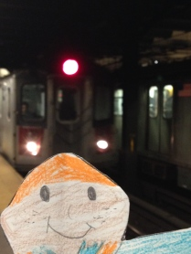 Here comes the 5 Train!