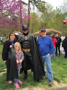 2015 with M & Batman!